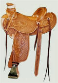Custom Wade Saddle